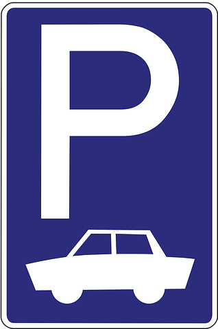 Free Image On Pixabay Parking Lot Parking Space Public Domain Images Symbols Road Signs