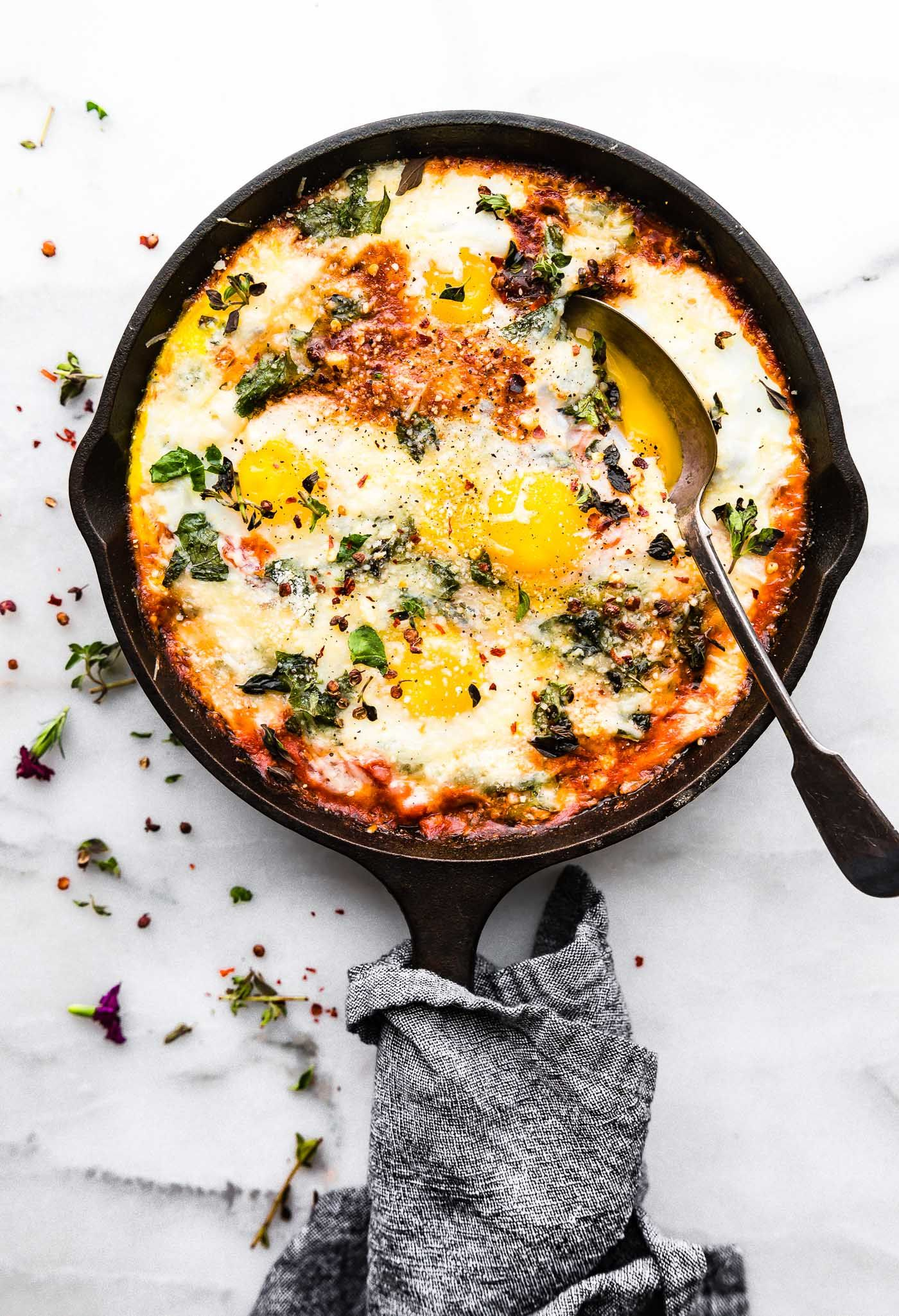 Italian Egg Bake (Low Carb Breakfast) images