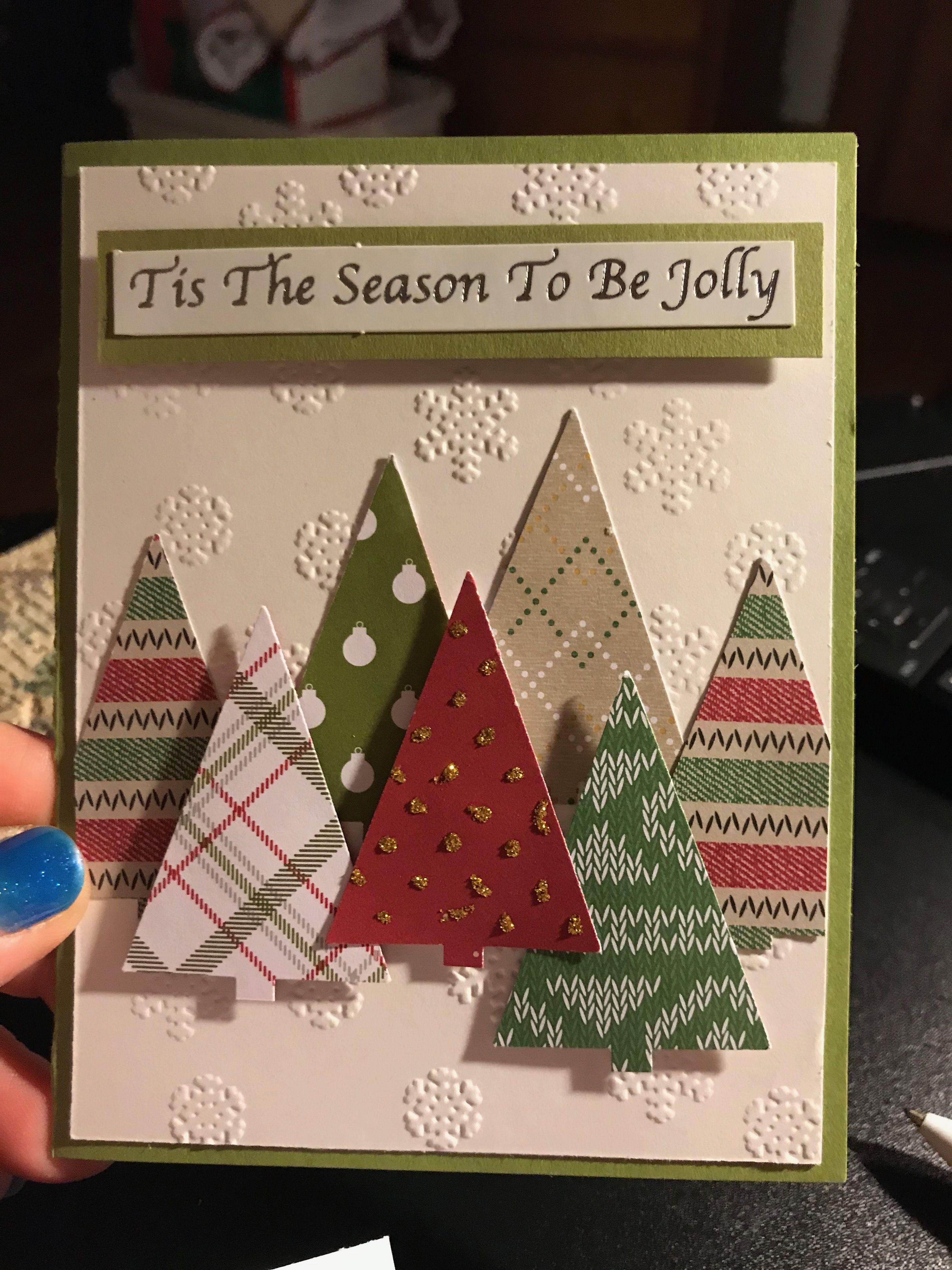 Christmas 2019 Diy Christmas Cards Christmas Cards Handmade Homemade Christmas Cards