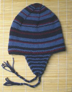 How to Knit an Ear Flap Hat | eHow | Crochet mens hat ...