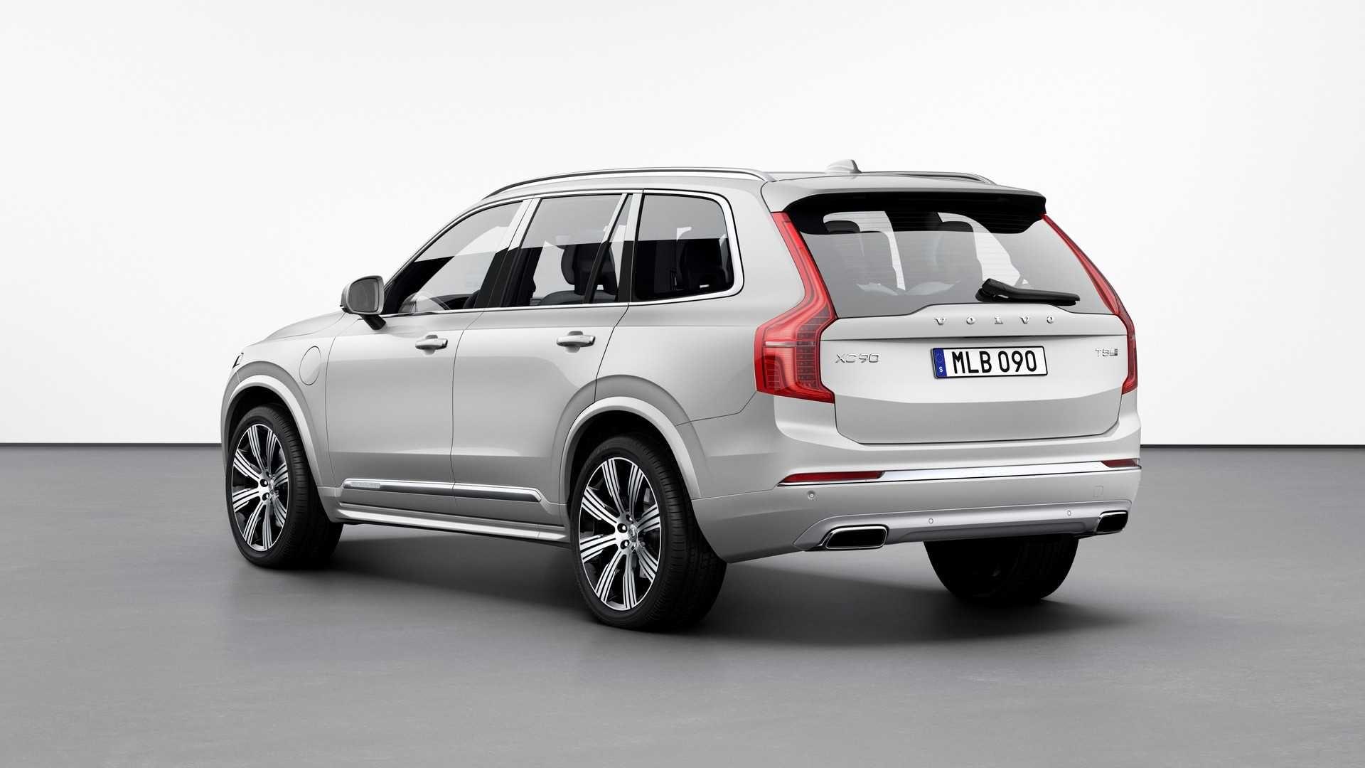 2020 Volvo Xc90 Refresh Brings Kers Hybrid Powertrain Volvo Volvo Suv Volvo Xc90
