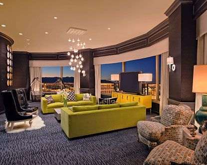 Presidential Suite At Planet Hollywood Las Vegas After Wedding Party
