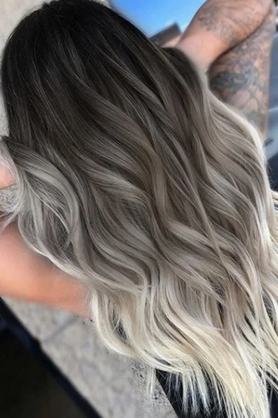 125 pretty fall hair color for brunettes ideas - #brunettes #color #ideas #pretty - #new #fallhaircolorforbrunettes
