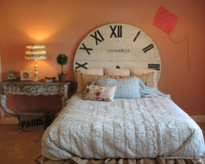 fischer wheatland model girls bedroom clock bed - Bedroom Clock