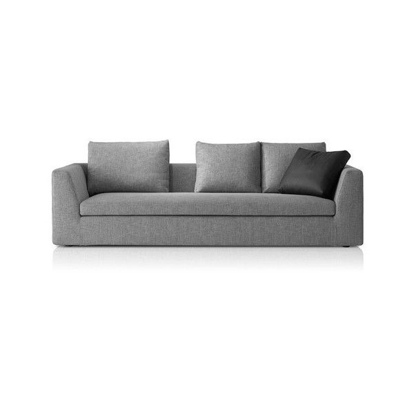 Pianca Mood 3 Seater Sofa 760 Liked On Polyvore Featuring Home Furniture Sofas Three And Couch