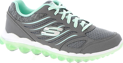 Skechers Sport Women S Shoes In Charcoal Color A Cushy Skech Air