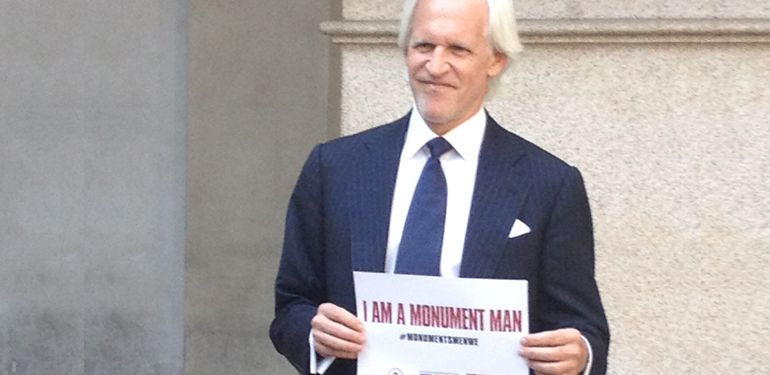 I am a Monuments Man! #MonumentsMenWE