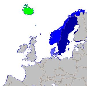 North Germanic Languages Wikipedia The Free Encyclopedia Norwegian Language Scandinavia