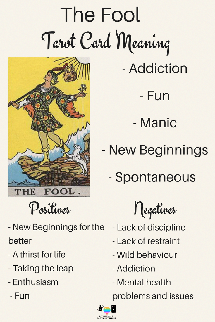 The Fool: Predictive Tarot Card Meanings