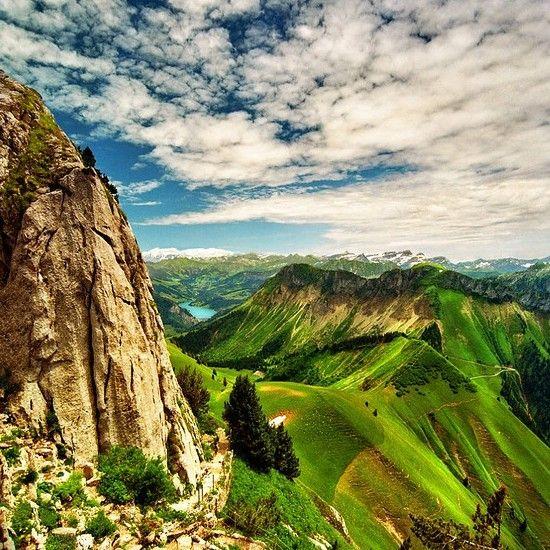 Les Rochers-de-Naye Switzerland