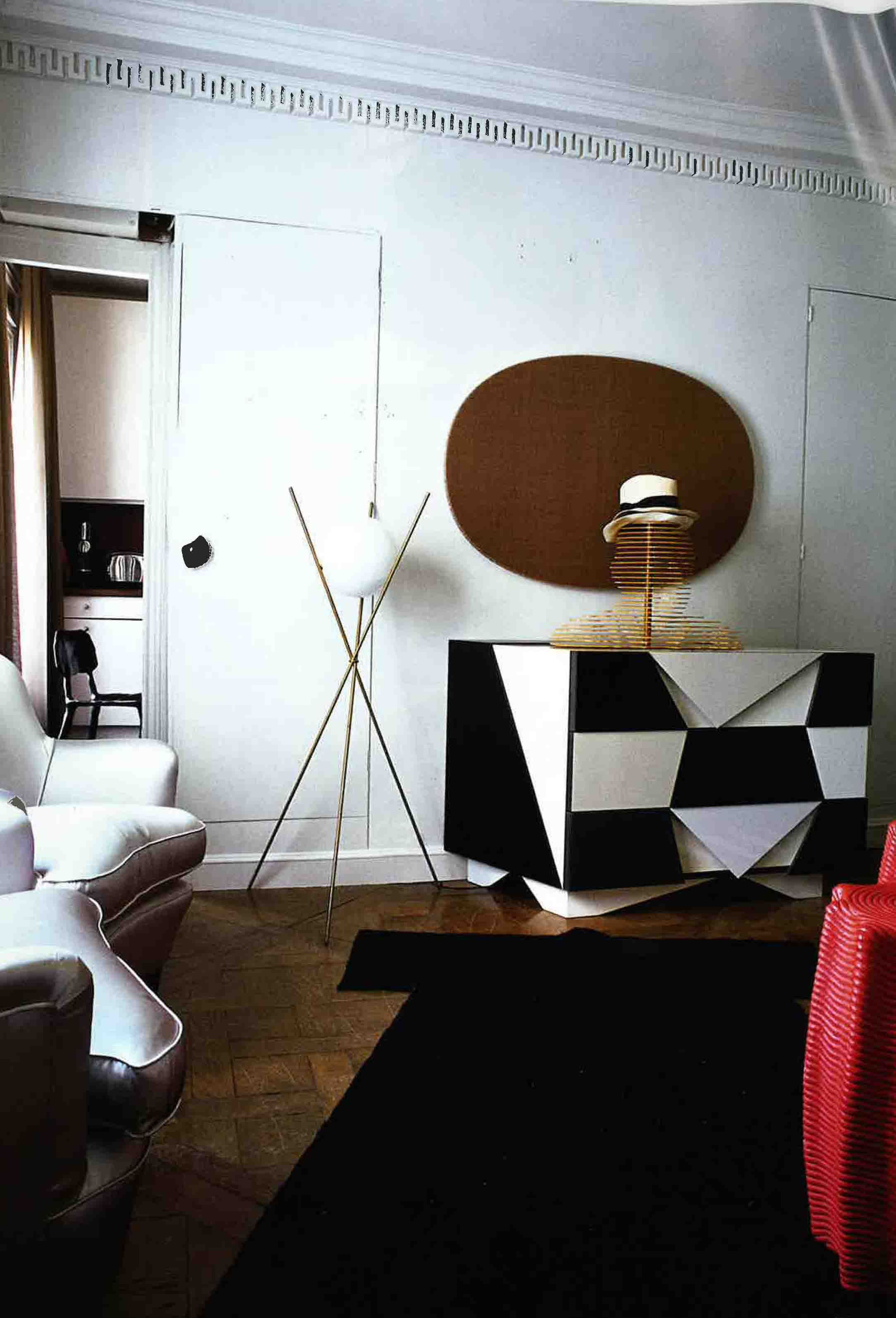 India Mahdavi S Paris Apartment Best Interior Designers Projects Design Ideas For More Inspirational Take A Look At