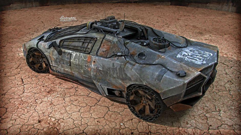 Lamborghini Reventon Custom Nuclear Edition By Vladimir Petkovic