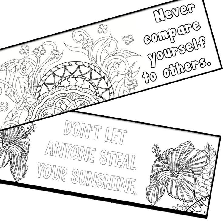 Mindfulness Bookmarks Year Supply Weekly Inspiration