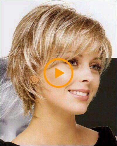Coupe de cheveux femme 50 ans visage rond # styles # coiffures2018femmes # coiffures2