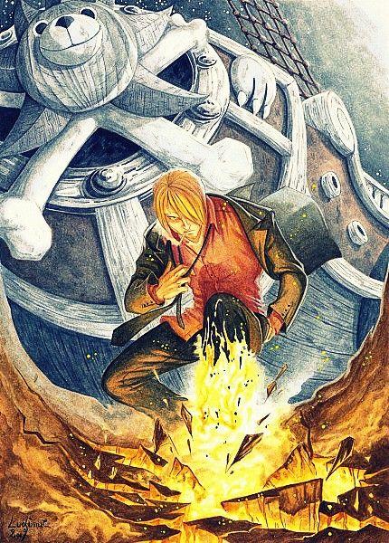 Sanji Diable Jambe One Piece Manga Rwby Anime One Piece Anime