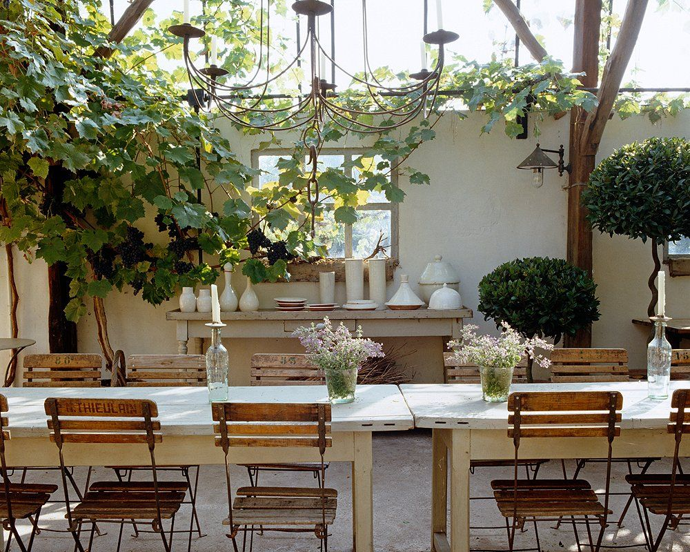Tips for Nailing Napa Style Decorating | Outdoor living spaces ...