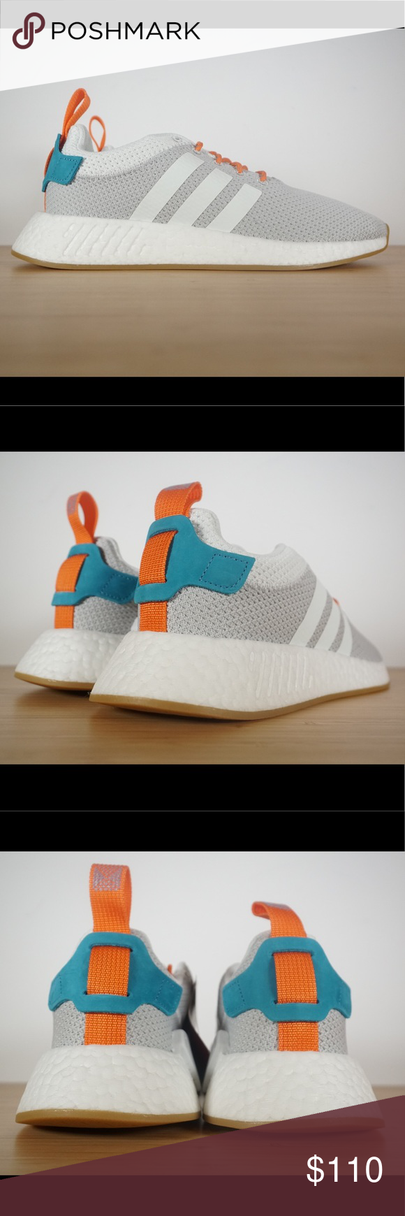 be841c7bf6f2e Adidas Nmd R2 Summer Crystal White Gum CQ3080 Brand New with Box ...