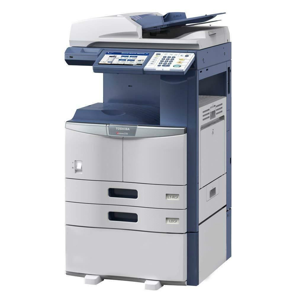 Toshiba E Studio 256 A3 Monochrome Tabloid Size Copier Printer Toshiba Printer Scanner Printer Toshiba