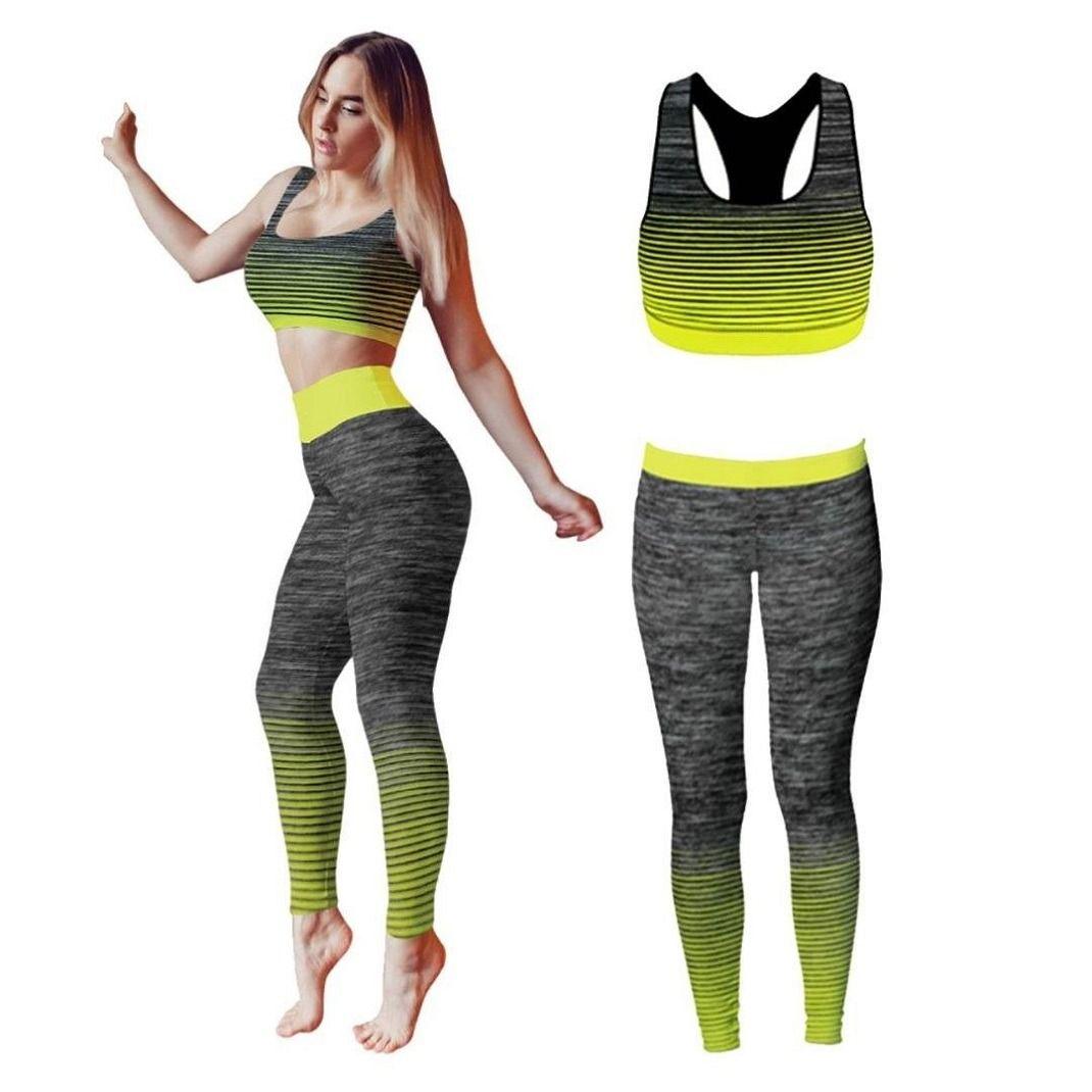 Bonjour Bonjour Yoga Or Training Clothing Set For Women