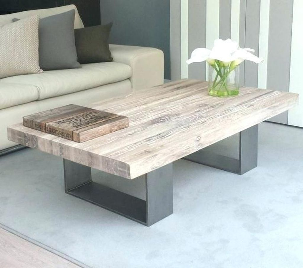 Nice 48 Gorgeous Diy Coffee Table Ideas White Washed Furniture Painted Bedroom Furniture Furniture Design [ 906 x 1024 Pixel ]