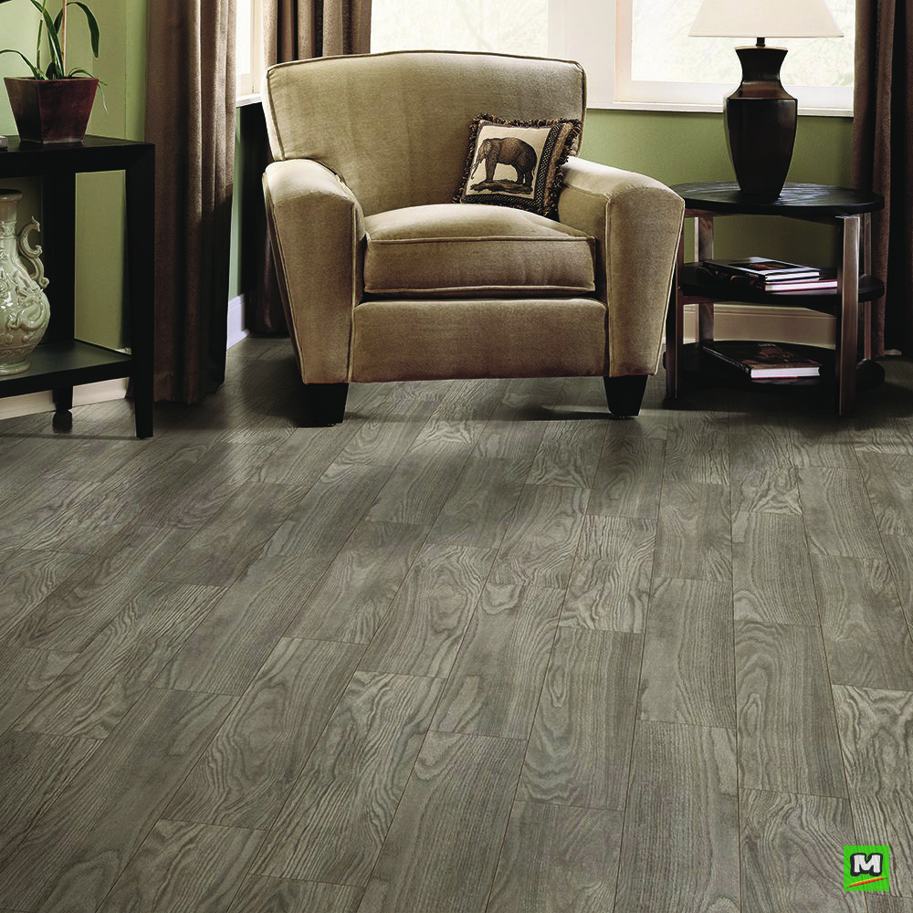 Armstrong® River Falls silver oak luxury vinyl plank have
