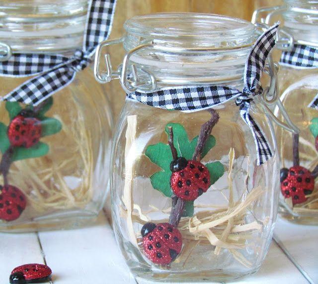 Ribbons & Glue: Pretty Lil' Ladybug Party...