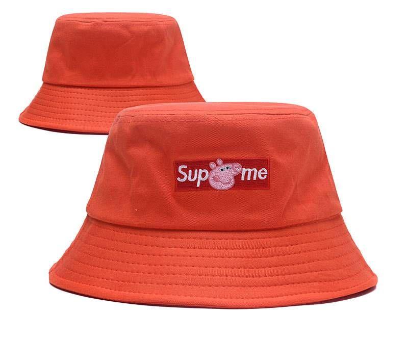 6a0d25c18838f Supreme X Peppa Pig Bucket Hats - Orange