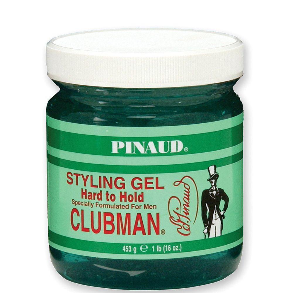 Clubman Pinaud Hard To Hold Styling Gel 16 Oz Beaubar Supply Beauty Salon Barber And Hair Supplies In Sacramento California Styling Gel Clubman Pinaud Hair Gel