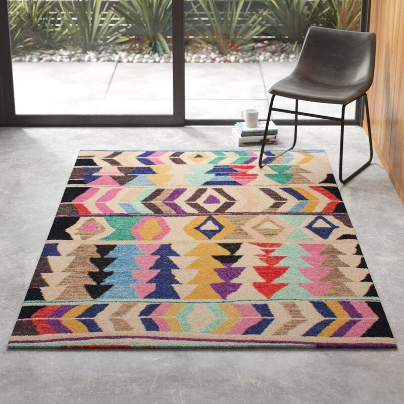 Foti Hand Tufted Pink Beige Area Rug In 2020 With Images Area