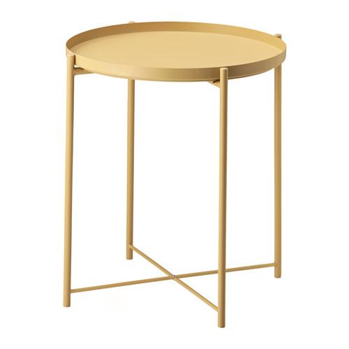 GLADOM 트레이테이블 - 라이트옐로 - IKEA