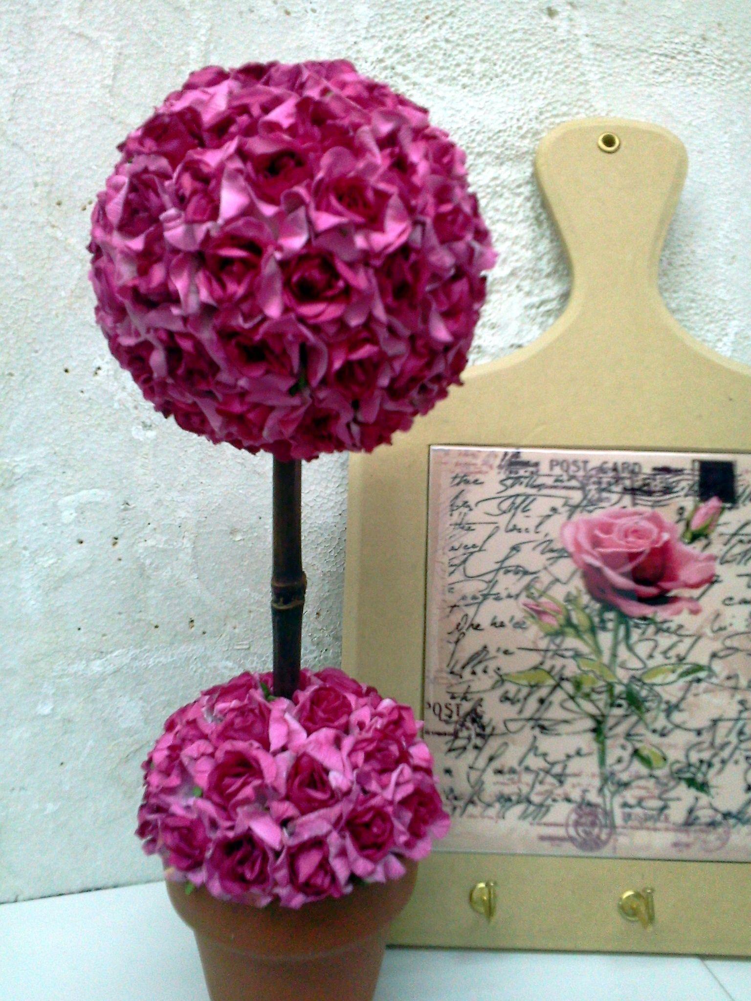 Sublimación - árbol con flores de papel
