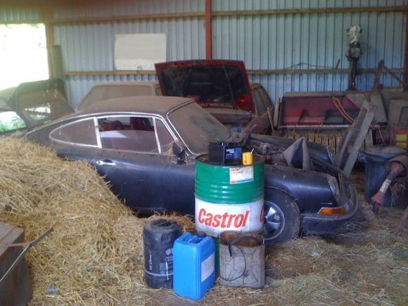 Amazing Barn Find First LWB Prototype Porsche 911