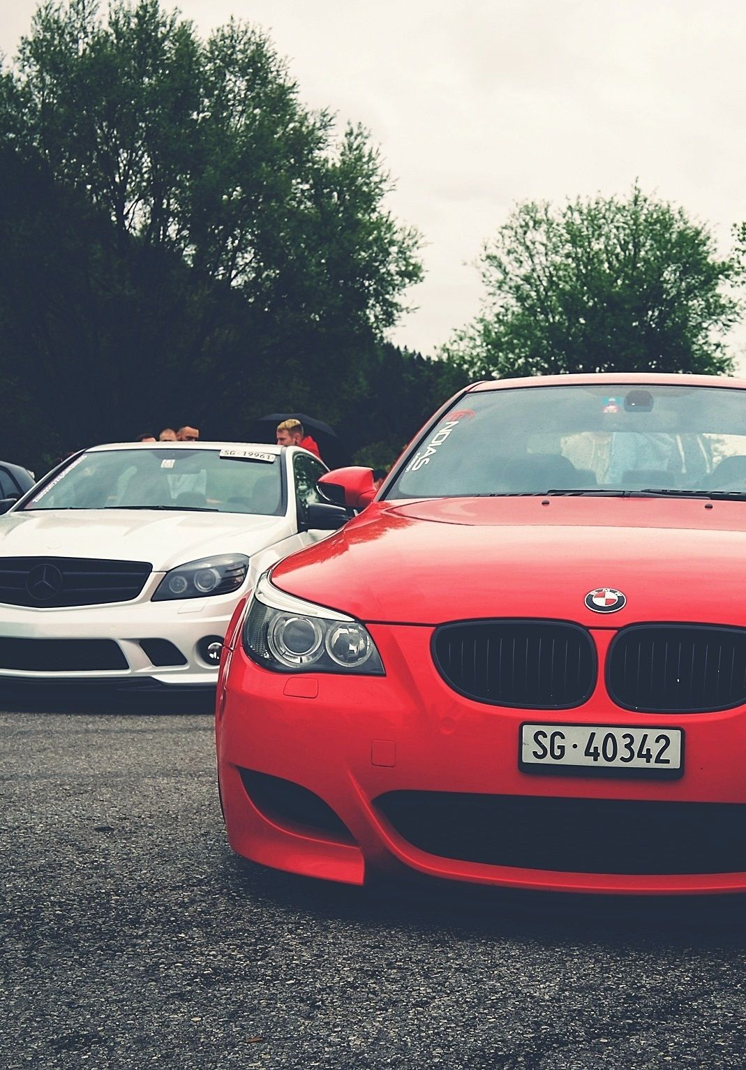 Mercedes C63 AMG BMW M3 Cars And Motorcycles