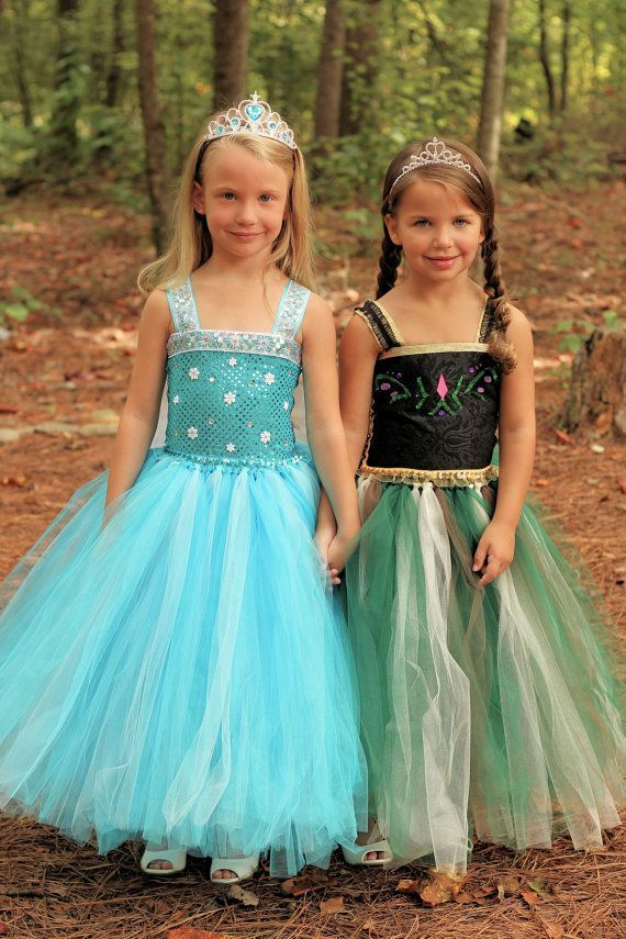 Frozen Inspired Anna Tutu Dress By LittleLocaTutus This Is Such A Great Concept Still Frilly But Not Heavy Itchy Or Too Hot For Summer And The