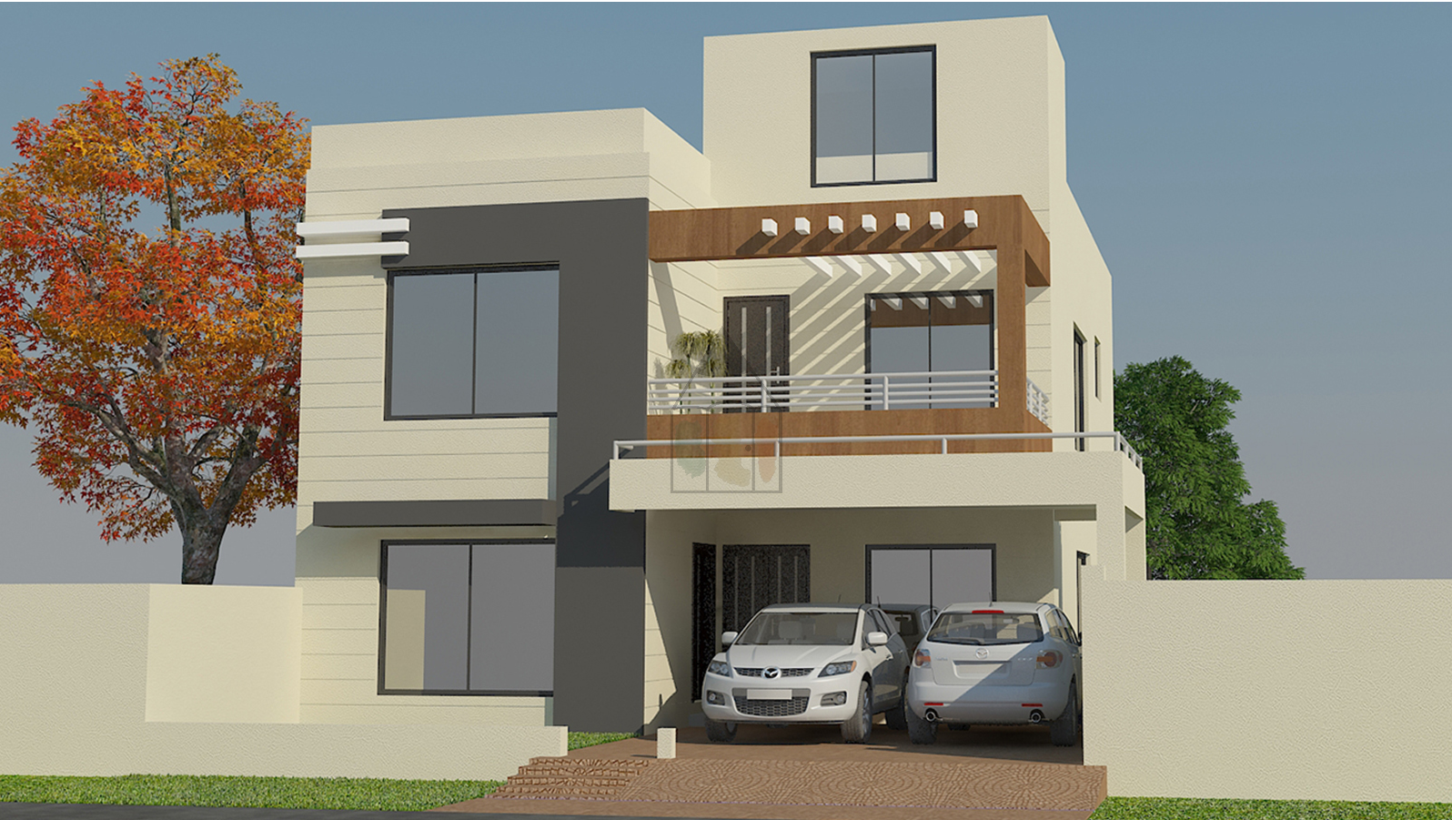 Pakistani House Designs 10 Marla This Is A Pakistani House Design Of 10 Marla 35 Ft Front And Bungalow House Design House Layout Plans Duplex House Design