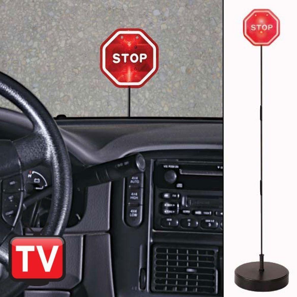 STOP SIGN FOR GARAGE LED Parking Sensor Garage Parking Aid