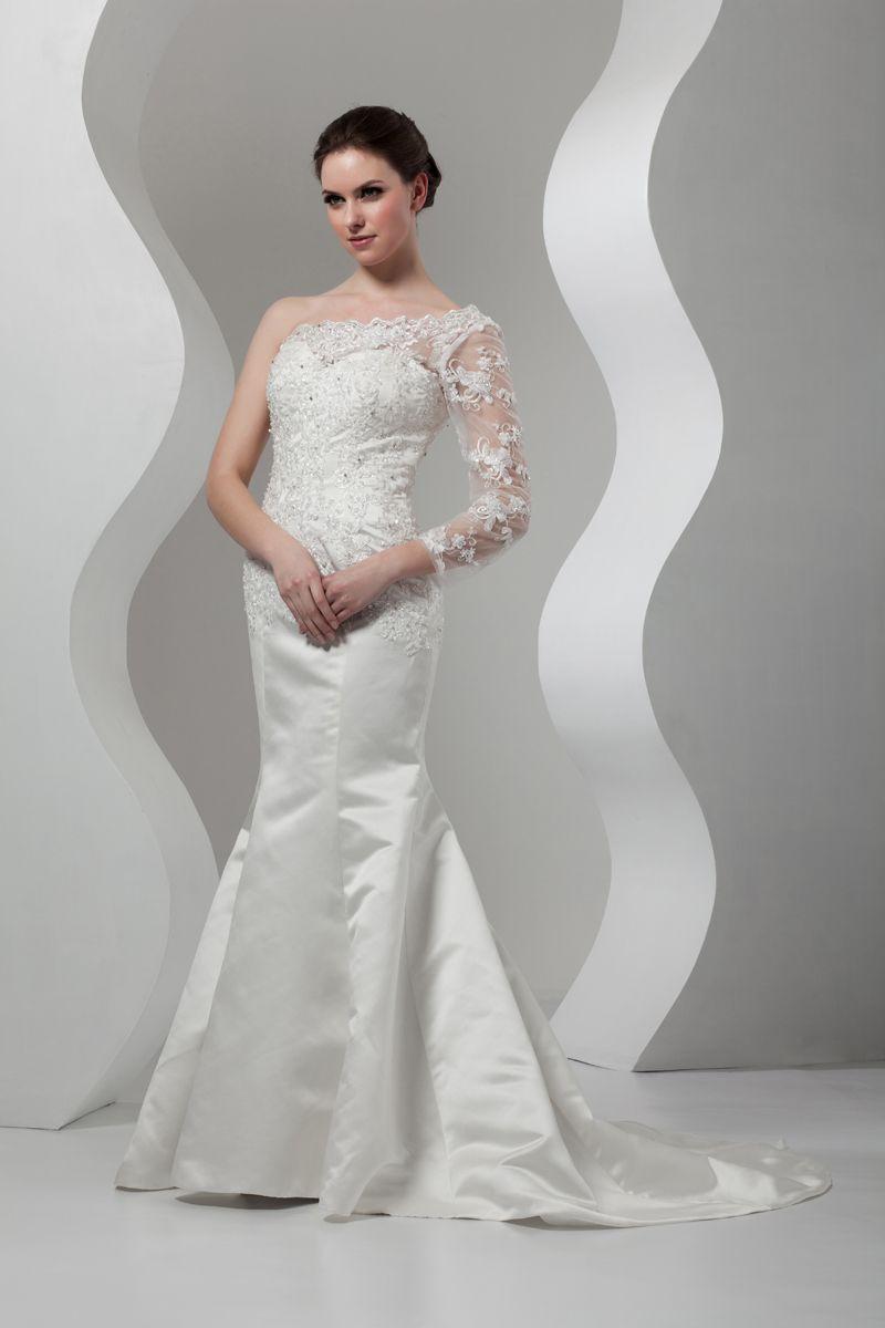 One should mermaid wedding dress left wedding dresses pinterest