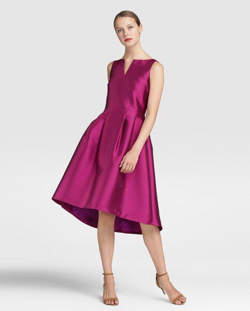 Vestidos de fiesta color uva cortos – Vestidos de moda de esta temporada
