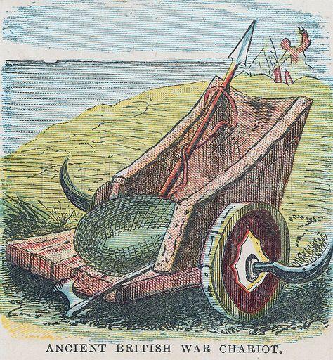 Ancient British War Chariot British Wars Ancient Celtic Warriors