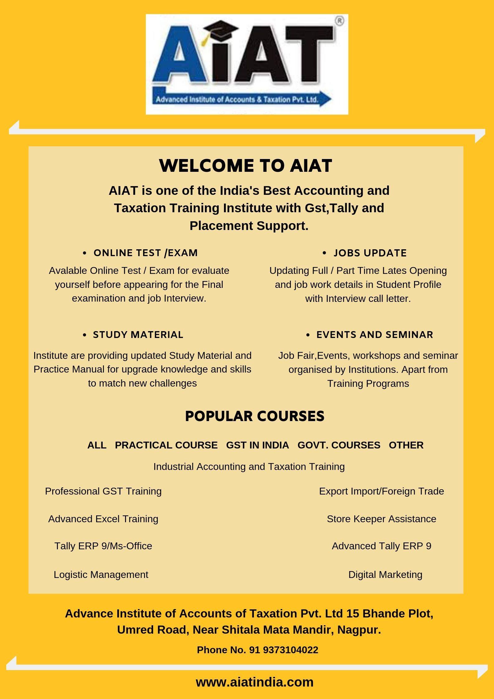 Pin on AIAT Institute