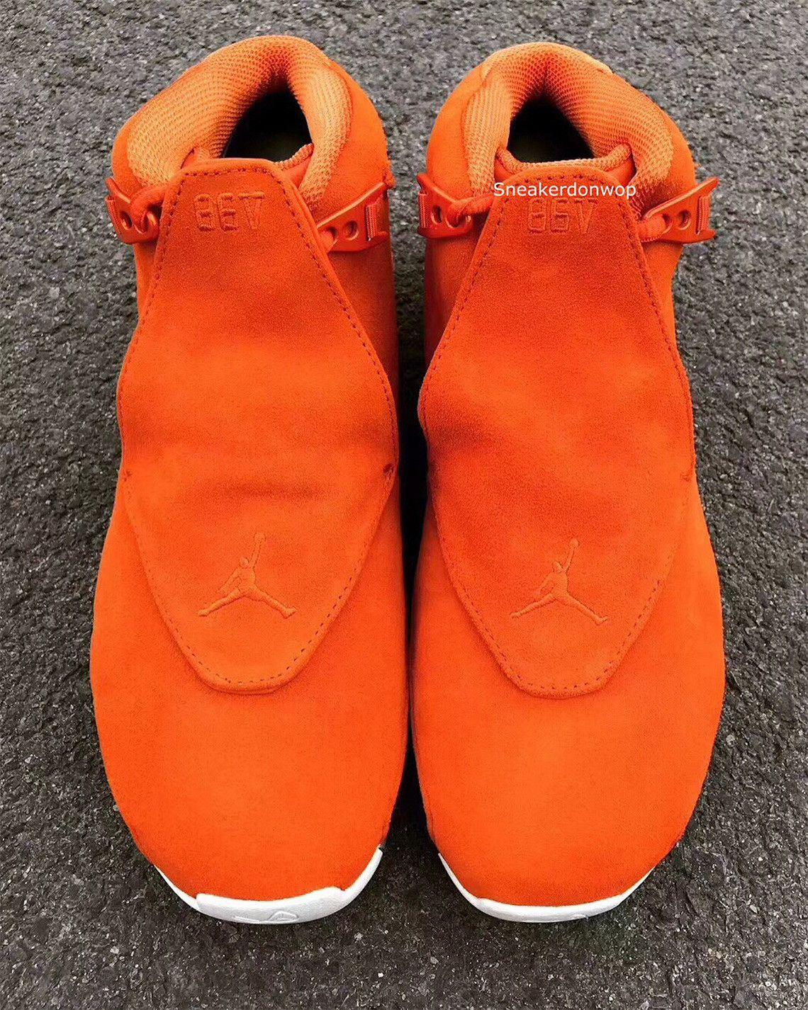promo code ecefe 8ee2d Jordan Brand To Release An Orange Air Jordan 18 Retro This Year