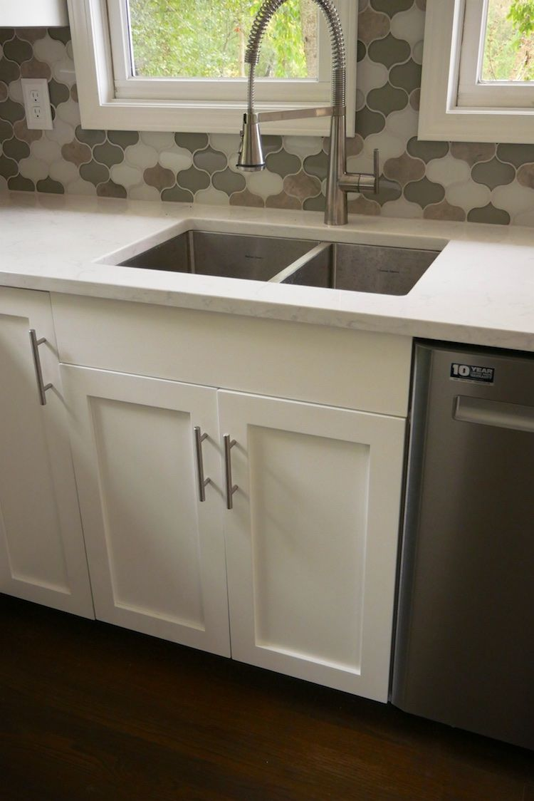 27in Sink Base Cabinet Carcass Frameless Rogue Engineer Laundry Room Hacks Base Cabinets Small Bathroom Organization