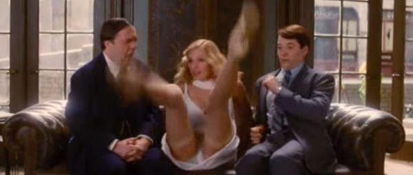 Best Upskirt Scenes In Mainstream Movies Uma Thurman The Producers