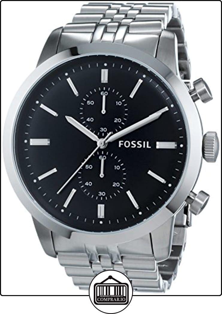 eec382cfa2b9 Fossil FS4784 - Reloj cronógrafo de cuarzo para hombre con correa de acero  inoxidable