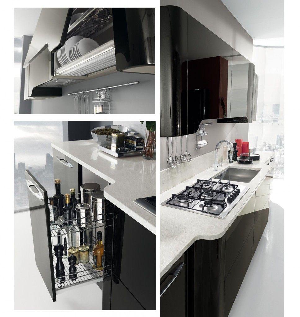 Sí a las cocinas negras! Un estilo valiente y elegante - Blog Con ...