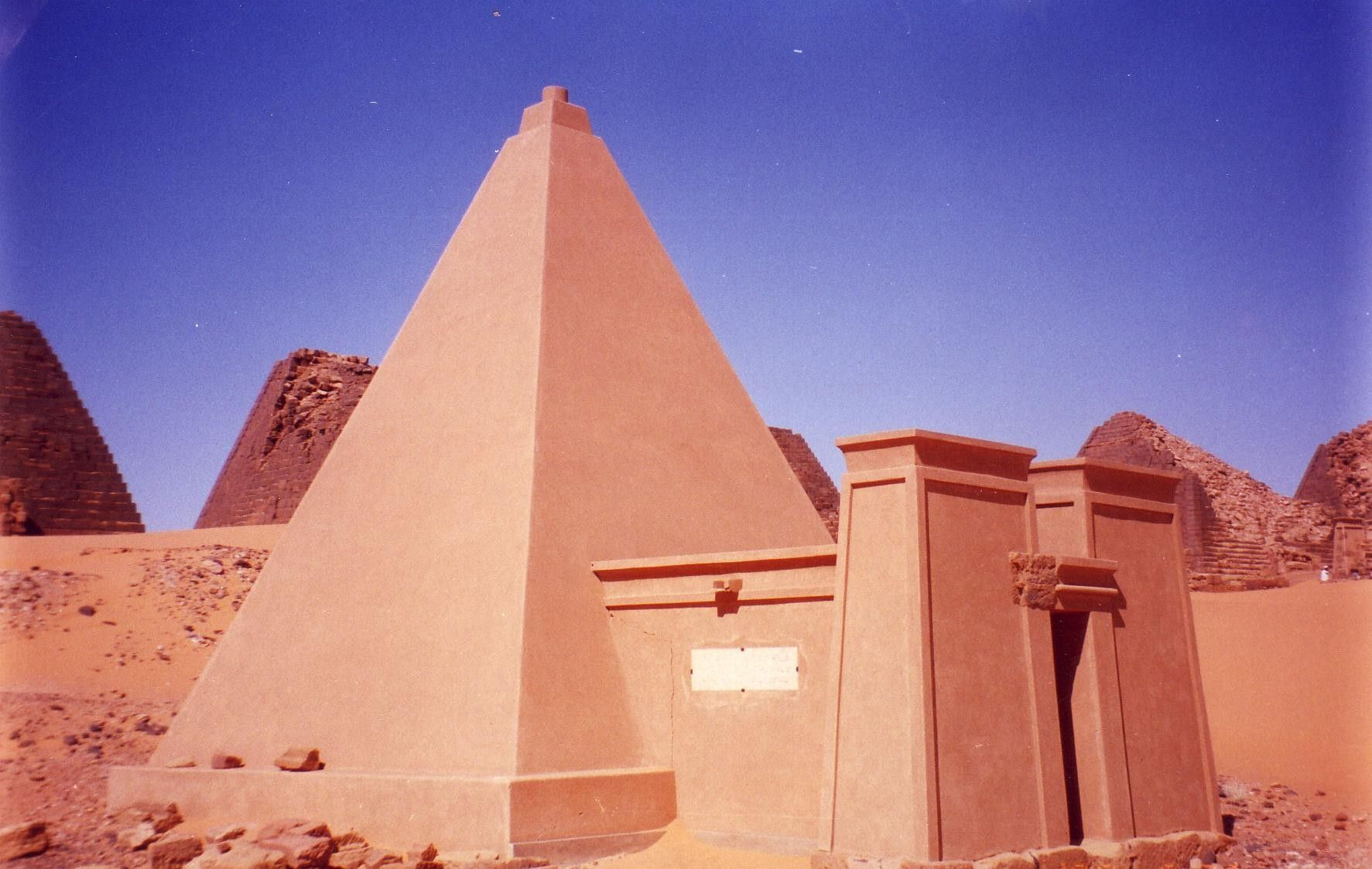 Ancient Sudan Nubian Pyramid