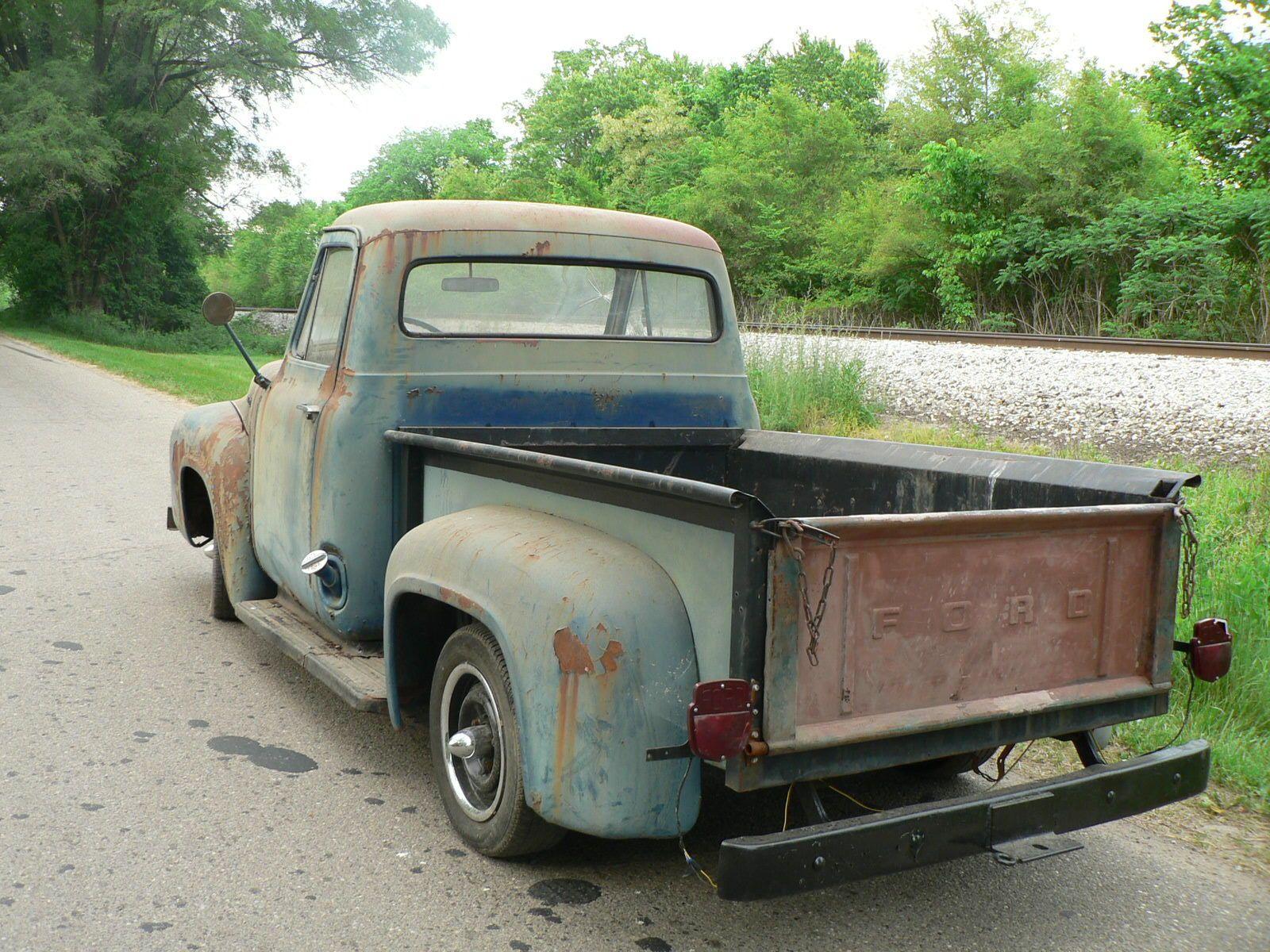 Ford F 100 | eBay | 1953-1956 Ford Trucks | Pinterest | Ford, Jeep ...