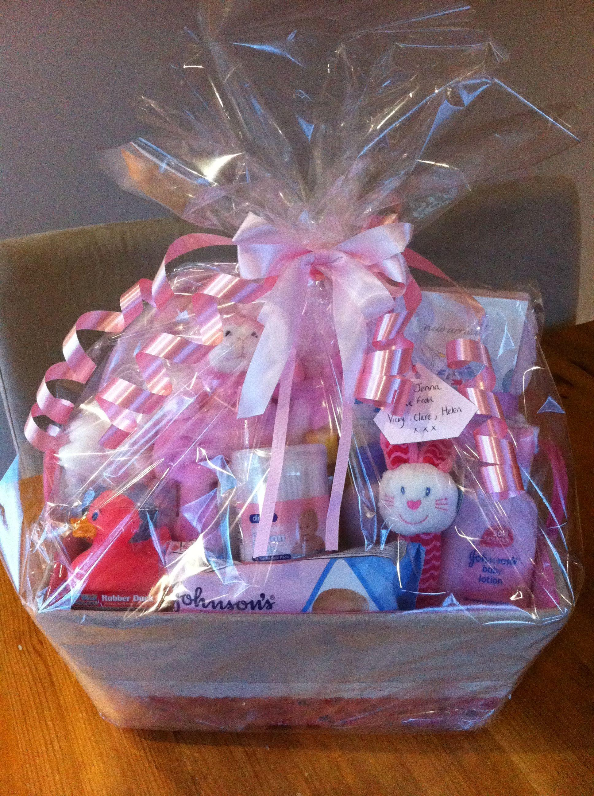 Baby girl hamper baby shower gift lots of newborn