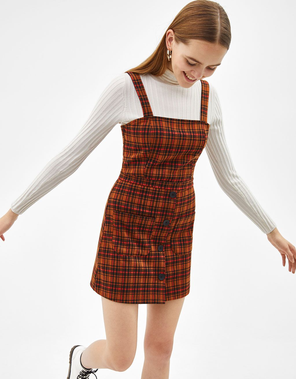 d02f0a35d3 Checked dungarees £15.99. Checked dungarees £15.99 Dungaree Skirt ...