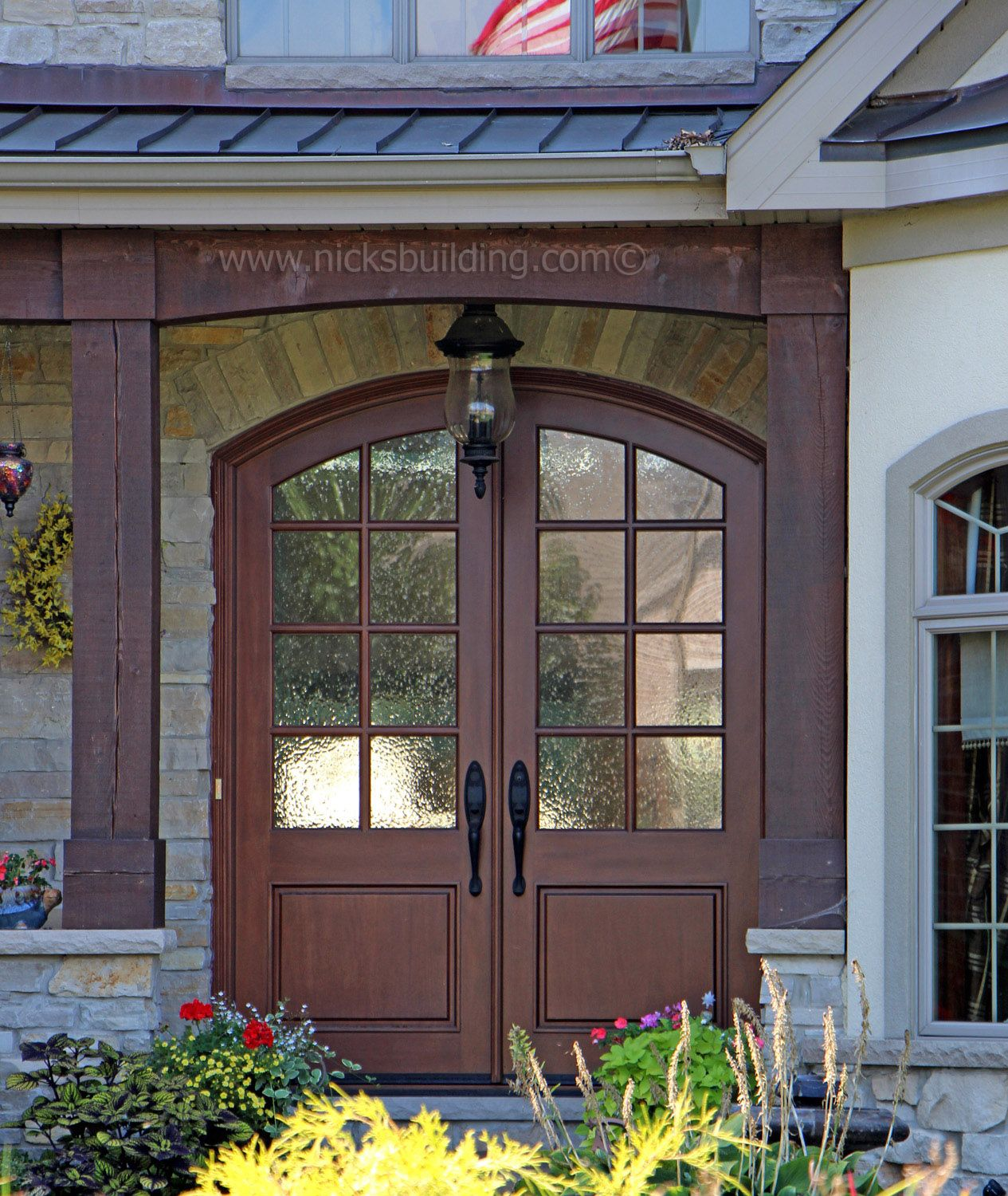 Custom Front Door Arched Top Double With Gl Beautiful Elegant Entrance Tempered Thiuch More At Www Nicksbuilding